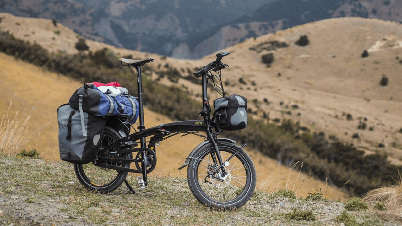 Light mount for Bicycle Brompton Dahon Birdy Folding bike