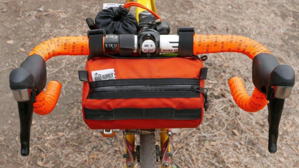 Handlebar Gangster Cycling Road Bike Bicycle Red Zebra Fanny Pack